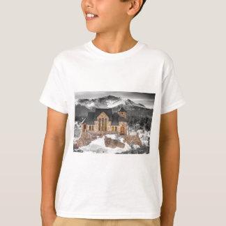 Capilla en la roca BWSC Camiseta