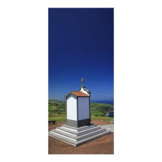 Capilla en las Azores Folleto Publicitario 10 X 22,8 Cm
