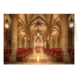 Capilla nacional de Belén de la catedral de Tarjeta De Felicitación
