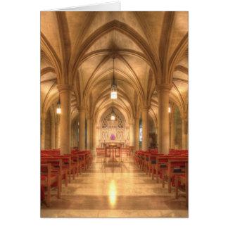 Capilla nacional de Belén de la catedral de Tarjeta Pequeña