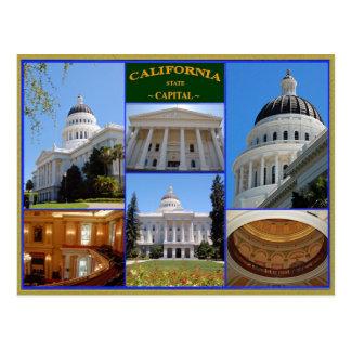 Capital del Estado de California Postal