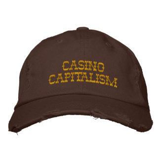 Capitalismo del casino gorra bordada