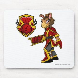 Capitán 1 del equipo de Shenkuu Alfombrilla De Ratón