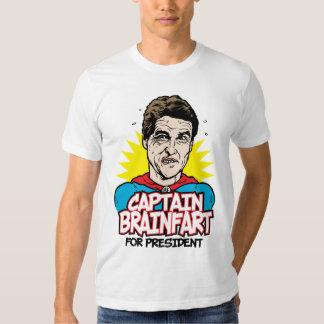Capitán Brainfart Shirt de Rick Perry Camiseta