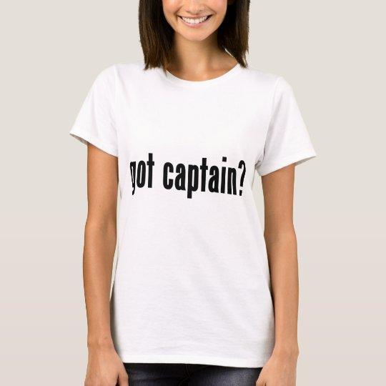 ¿capitán conseguido? camiseta