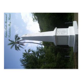 Capitán Cook Monument Postcard Hawaii Postal