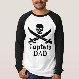 Capitán Dad - obra clásica Camiseta