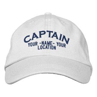 Capitán de mar personalizado gorra gorra de béisbol bordada