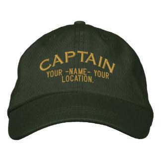 Capitán de mar personalizado gorra gorro bordado