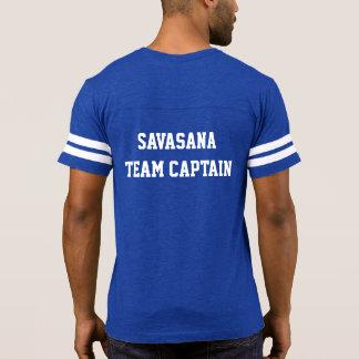 Capitán del equipo de Savasana - camiseta espiral