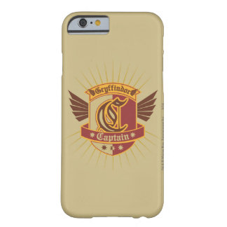 Capitán Emblem de Gryffindor Quidditch Funda Para iPhone 6 Barely There