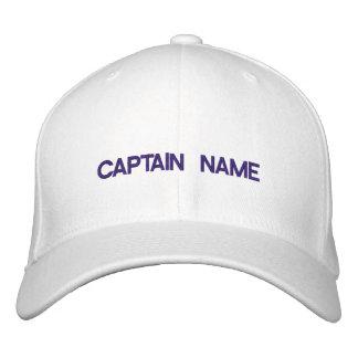 Capitán Embroidered Hat Gorra De Beisbol Bordada