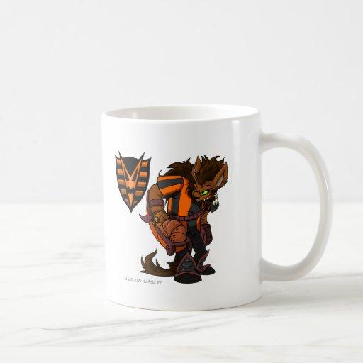 Capitán frecuentado 1 del equipo de maderas tazas de café
