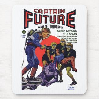 Capitán Future Alfombrilla De Ratón