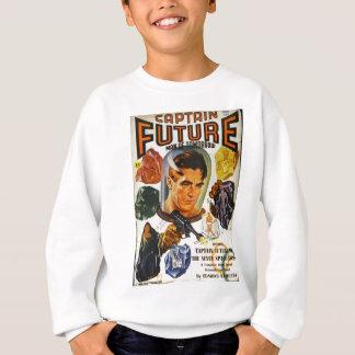 Capitán Future y las piedras del espacio Sudadera