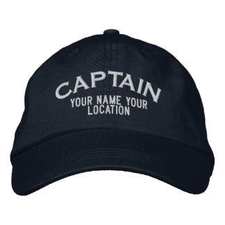 Capitán Hat de Personalizable Gorras Bordadas