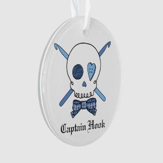 Capitán Hook - cráneo del ganchillo (azul)