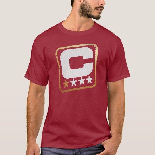 Capitán intransigente Tee Camiseta