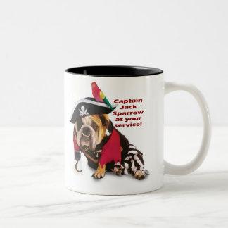 ¡Capitán Jack Tazas De Café