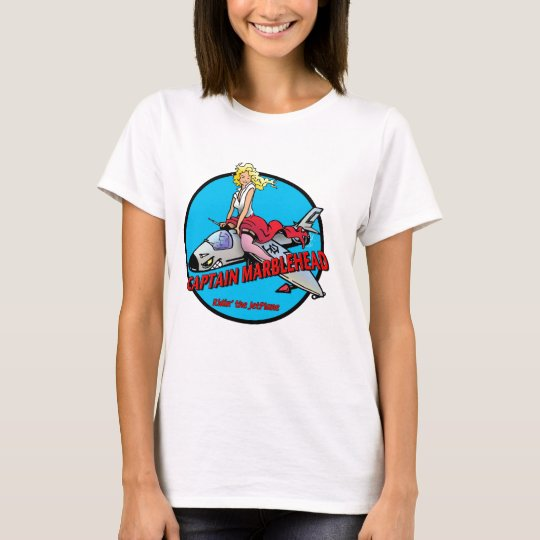 Capitán Marblehead, el tanque de las señoras Camiseta