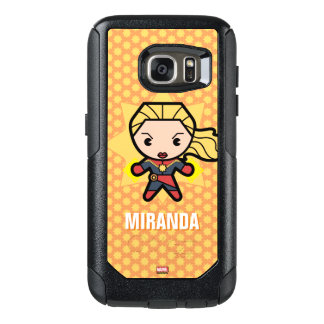 Capitán Marvel Photon Engery de Kawaii Funda Otterbox Para Samsung Galaxy S7