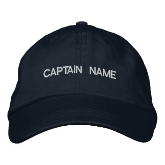 CAPITÁN NAME HAT GORRO BORDADO