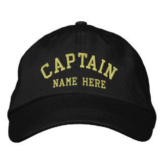 Capitán - personalizable del marinero gorras bordadas