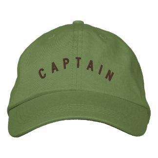 Capitán Pilot Hat Gorra De Beisbol Bordada