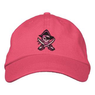 Capitán Skull Embroidered Cap del pirata Gorra De Béisbol