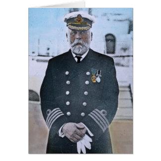 Capitán titánico Edward J. Smith del RMS Tarjeta De Felicitación