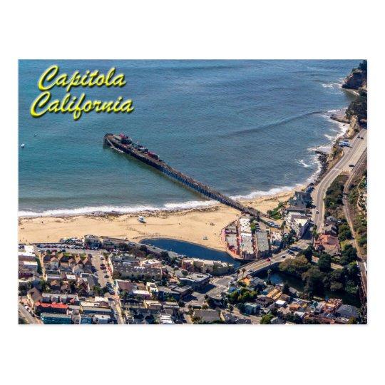 Capitola, California desde arriba de la postal