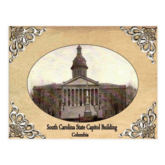 Capitolio del estado de Carolina del Sur que Postal