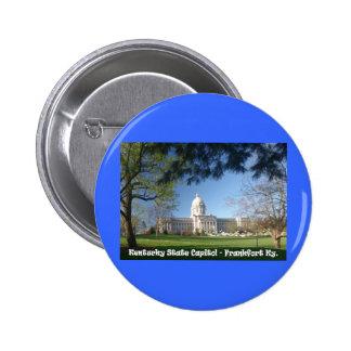 Capitolio del estado de KYCA101.Ky - Frankfort KY Pin