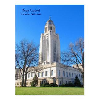 Capitolio Lincoln, postal best1 del estado del NE