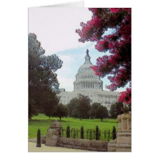 Capitolio, Washington DC Tarjeta De Felicitación