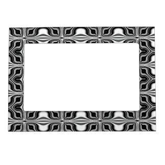 Capítulo blanco negro de la foto del modelo de la  marcos magnéticos de fotos