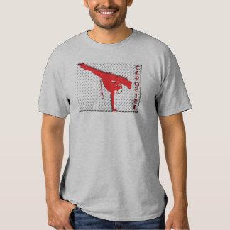capoeira de la rejilla del metal camiseta