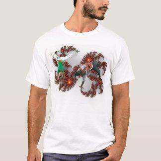 capoeira del fractal camiseta
