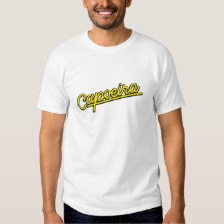 Capoeira en amarillo camisetas