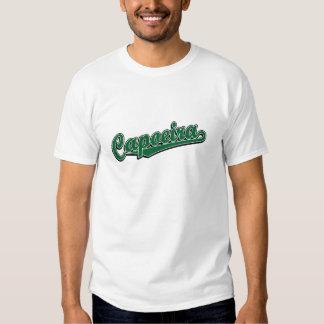 Capoeira en la suposición verde camiseta