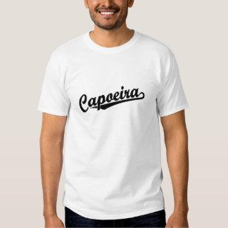 Capoeira en negro camisetas