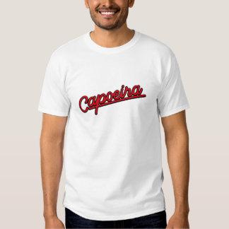 Capoeira en rojo camiseta