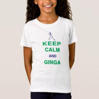Capoeira: Guarde la calma y Ginga Camiseta