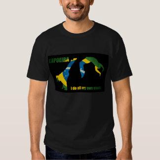 Capoeira: Hago todos mis propios trucos Camisetas