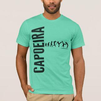 Capoeira m verde camiseta