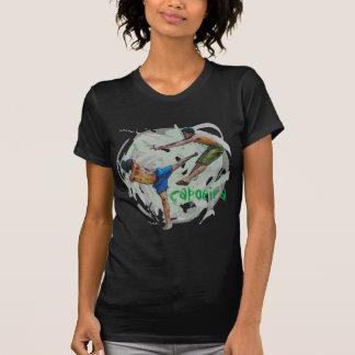capoeira, oscuridad del vida del minha de e camiseta