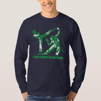 Capoeira regional (verde) camiseta