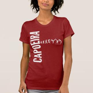 Capoeira w rojo camisetas