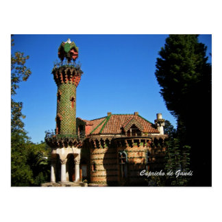 Capricho de Gaudi.Comillas, Tarjeta Postal