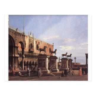 Capricho: Los caballos de San Marco en el Piazzett Postal